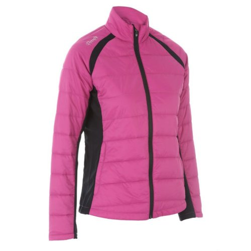 ProQuip Alexis Full Zip Ladies Therma Tour Quilted Jacket Rouge 2X-Large