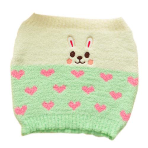 [GREEN] Keep Your WAIST/STOMACH/TUMMY Cashmere Belt Lovely Rabbit