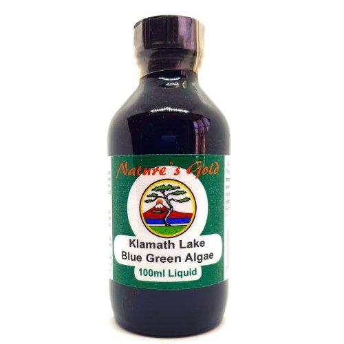 Nature's Gold Klamath Lake Blue Green Algae 100ml liquid