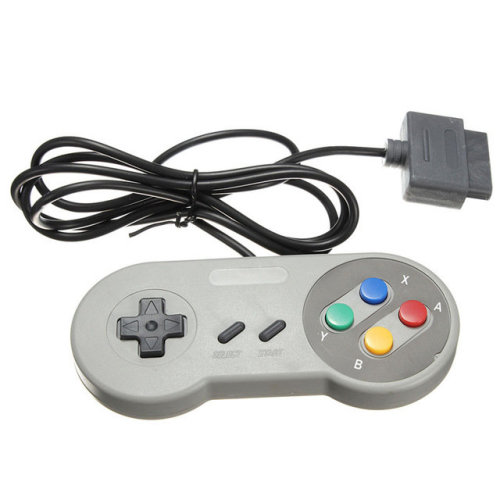 Controller for SNES Super Nintendo original console Famicom pad wired ZedLabz