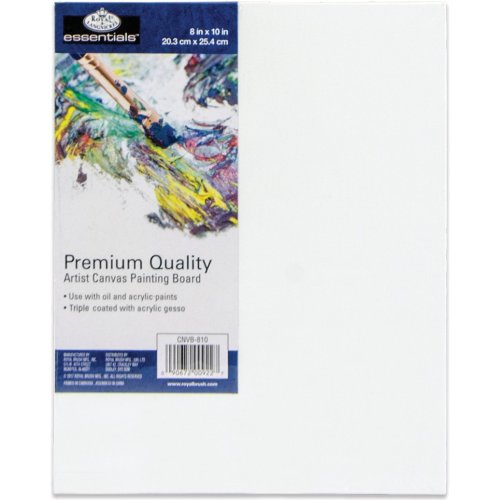 """essentials(TM) Premium Canvas Board-8""""X10"""""""