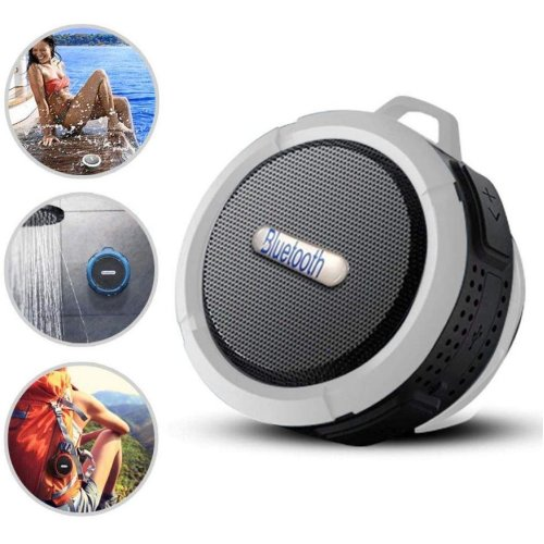 Waterproof Wireless Bluetooth Speaker Laud HD Sound, Shower Speaker, Portable with EXTRA BASS Compatible with Prestigio Muze 3171 3G