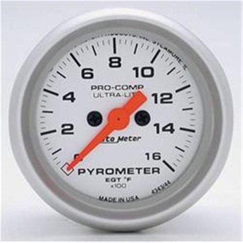AUTO METER 4344 2.06 Ultralite 0-1600 F