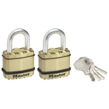 Master Lock Padlock Excell 2 pcs Steel 45 mm M1BEURT