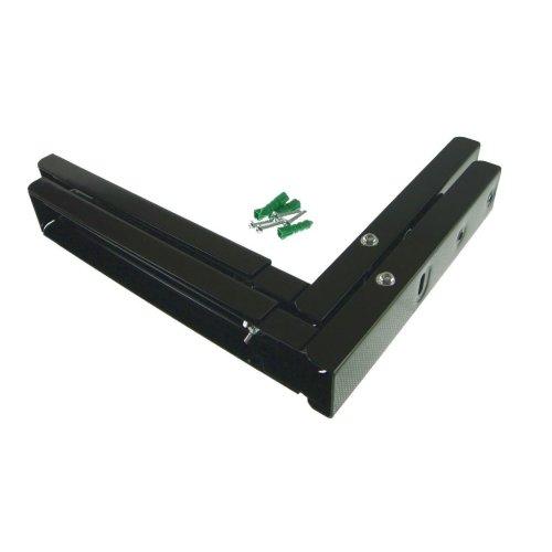 Whirlpool Universal Microwave Wall Bracket Extendable Arms Black