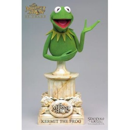 The Muppet Show 25 Years Kermit the Frog bust Muppets by Sideshow Weta