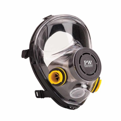 sUw - Vienna Class 2 Full Face Respirator Mask With Bayonet Connectors