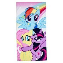 My Little Pony Equestria Towel Officially Licensed Product - Multi-Colour