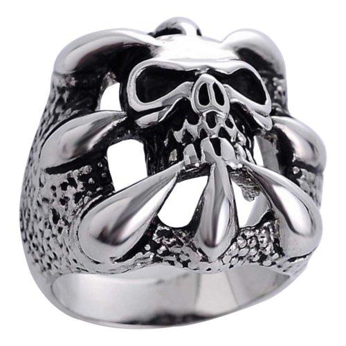 Skull Ring Personalised Men Ring Unique Ring