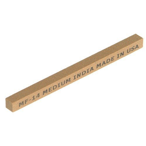 India 61463686090 CF34 Square File 100mm x 10mm - Coarse