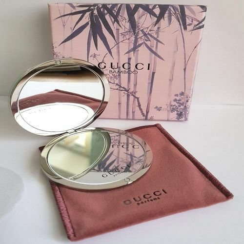 NEW Gucci Bamboo Compact / Handbag Mirror Fantastic Quality Nice Gift