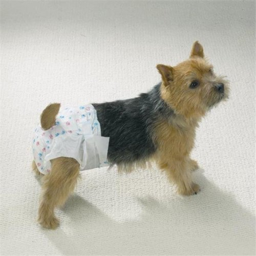 Clean Go Pet ZW958 08 Clean Go Pet Disposable Doggy Diapers Mini