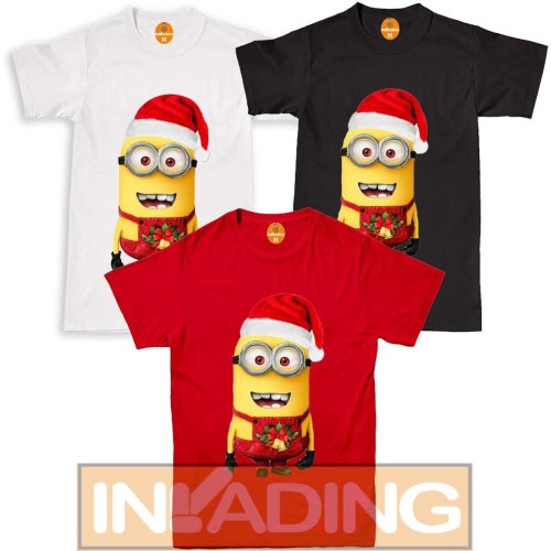 Christmas Minions Mens Tshirt Funny Secret Santa