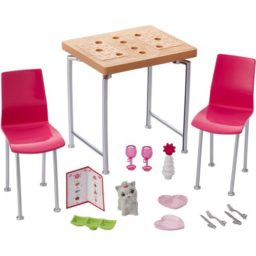 Barbie Date Night & Accessories Playset