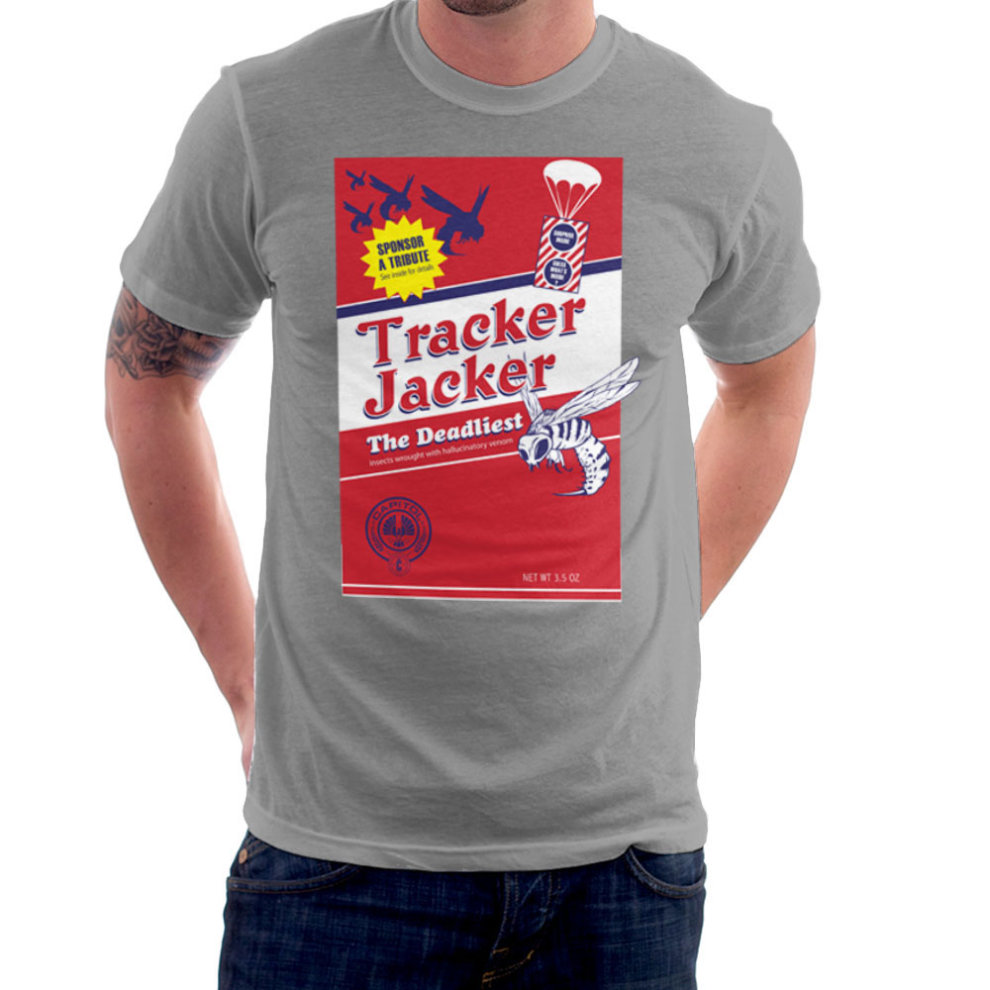 16bd2b488 Tracker Jacker Box The Hunger Games Men's T-Shirt on OnBuy