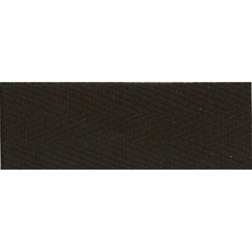 """Products From Abroad 100% Cotton Twill Tape 1.125""""X55yd-Dark Brown"""