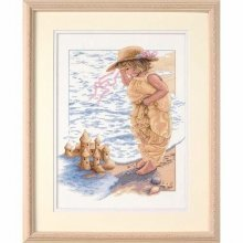D13730 - Dimensions Counted X Stitch - Sandcastle Dreams