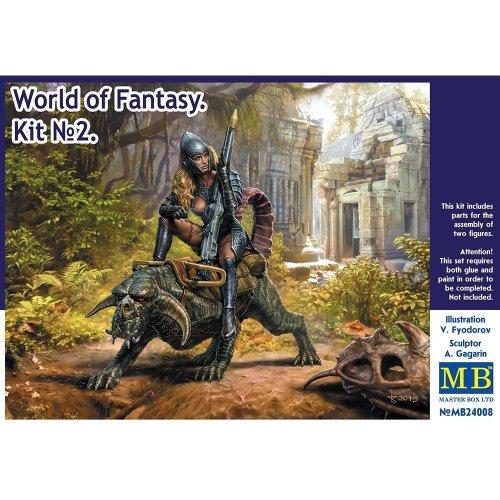 Mas24008 - Masterbox 1:24 - World of Fantasy - Kit No. 2