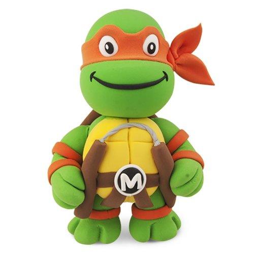 TMNT MYO Dough Turtle Michelangelo