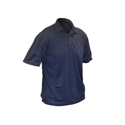 Roughneck Clothing 95-007 Blue Quick Dry Polo Shirt 42-44in - L