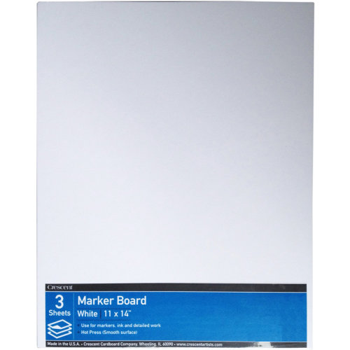 "Crescent Hot Press Marker Board Value Pack 3/Pkg-11""X14"""