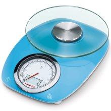Soehnle Kitchen Scales Vintage Style 5 kg Blue 66230