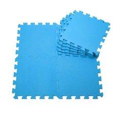 Quality Waterproof Baby Foam Playmat Set-9pc /Blue