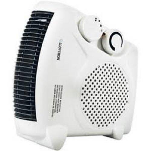 Lloytron F2003WH Upright Electric Fan Heater