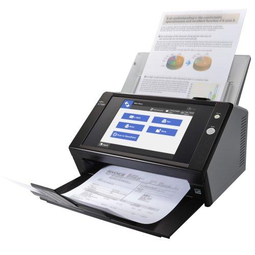 Fujitsu N7100 ADF 600 x 600DPI A4 Black