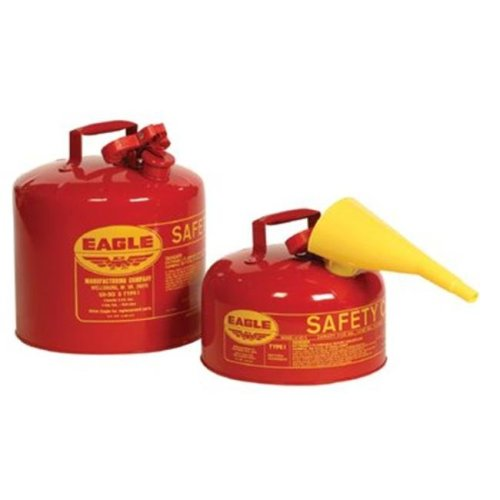 Eagle Mfg 258-UI-20-FS 2Gal. Type 1 Safety Canw-F-15 Plas