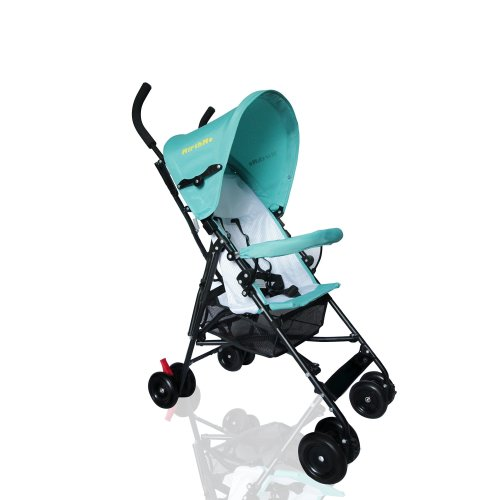 MirthMe Light Weight Baby Buggy/Stroller (Aqua Blue)