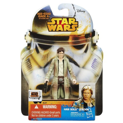 Star Wars New Hasbro Saga Legends Collection Han Solo (Endor) Action Figure