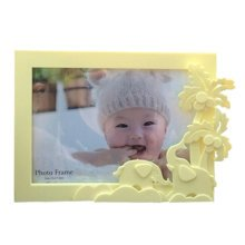 Lovely Elephant Baby&Kids Picture Frame Photo Frames Plastic Frames,Yellow