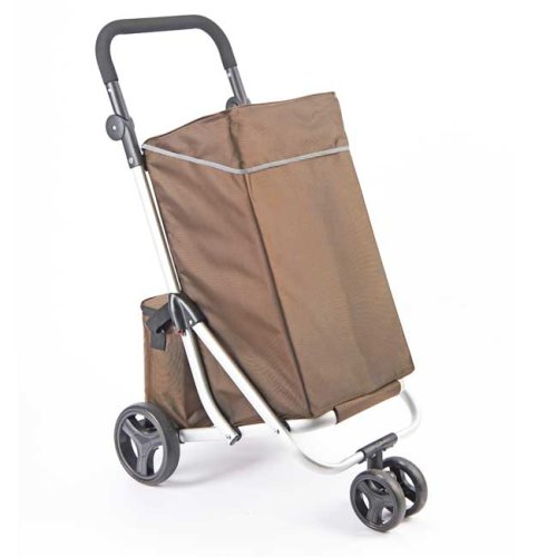 Lightweight 4-Wheel Shopping Trolley | Large (30kg) Capacity MaBag | Easylife