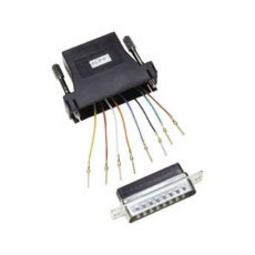 Lindy RJ-45 / 25-pin D Adapter RJ-45 FM 25-pin D M Black