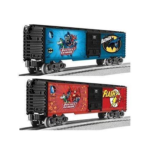 LNL82683 O-27 Box, Batman/The Flash (2) by Lionel