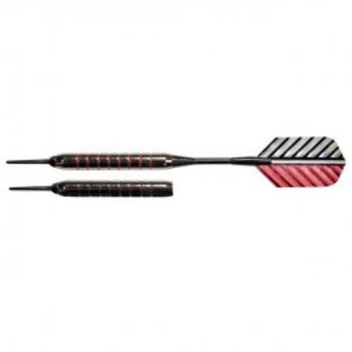 Arachnid SFA300 Striped Metallic Darts in Case