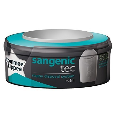Sangenic Tec Cassette - Tommee Tippee Compatible Refill -  sangenic cassette tommee tippee compatible refill