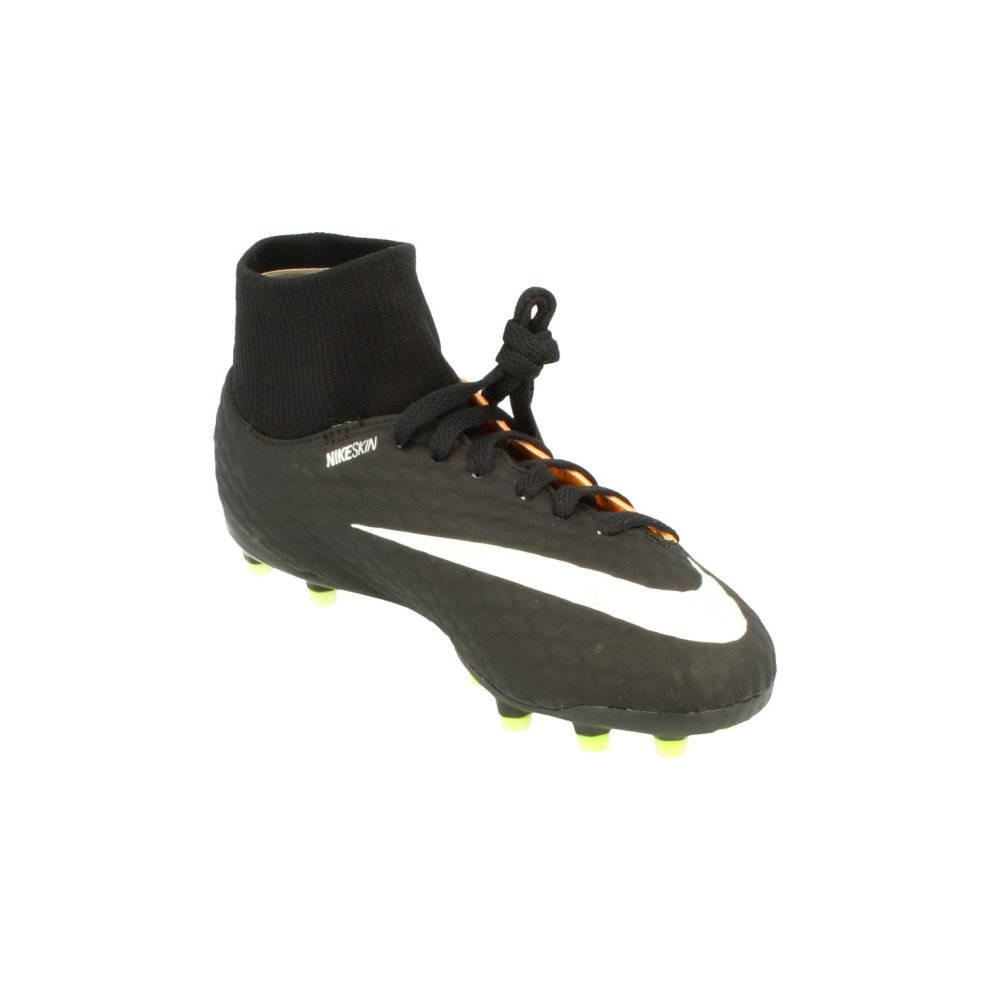 ae43f385f8d ... Nike Junior Hypervenom Phelon 3 Df FG Football Boots 917772 Soccer  Cleats - 3 ...