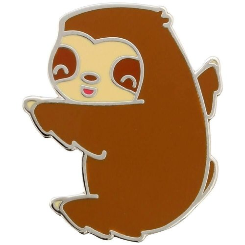 Grindstore Baby Sloth Enamel Pin Badge