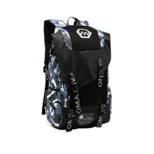 Fashion School Laptop Backpack Lightweight Travel Backpack,Camouflage blue