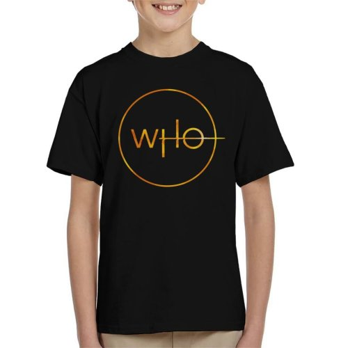 Doctor Who Insignia Kid's T-Shirt