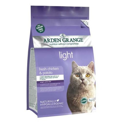 Arden Grange Grain Free Cat Light With Fresh Chicken & Potato 2kg