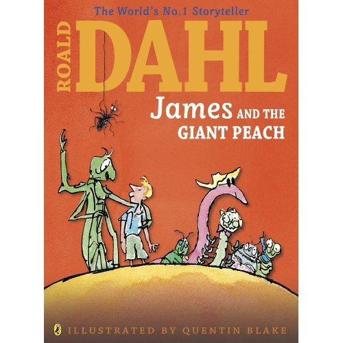 James and the Giant Peach (Colour Edn) (Dahl Colour Editions)