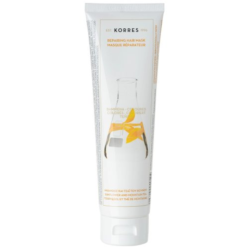 KORRES Mask Sunflower and Mountain Tea for Coloured Hair 125 ml