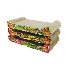 Graffiti Style Series Corrugated Paper Cat Scratching Pad/Board,Cat Bed,BLUE