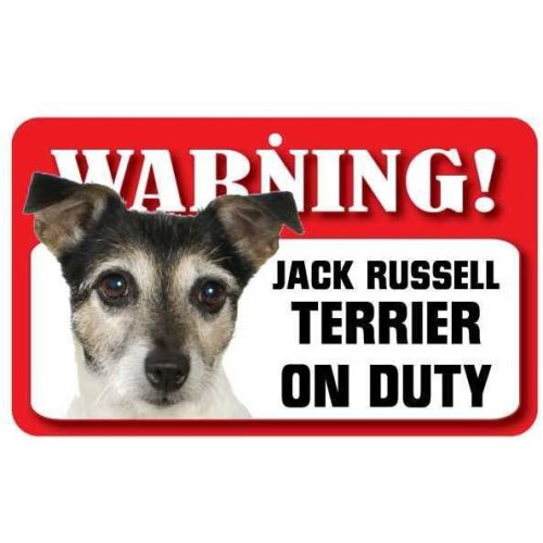 Jack Russell Terrier Pet Sign