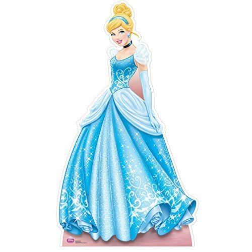 STAR CUTOUTS SC554 Cinderella Colourful Cardboard Cut Out
