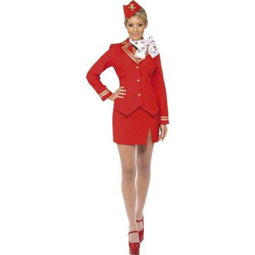 Trolley Dolly Costume, UK Dress 20-22
