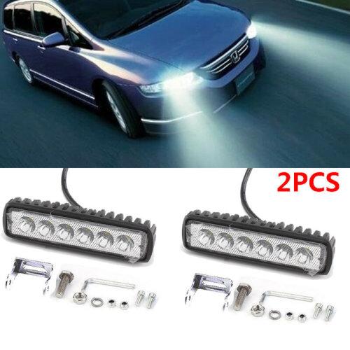 2x 18W Cree LED Spot Flood light Work Light Lamp For 12V/24V Truck Waterproof